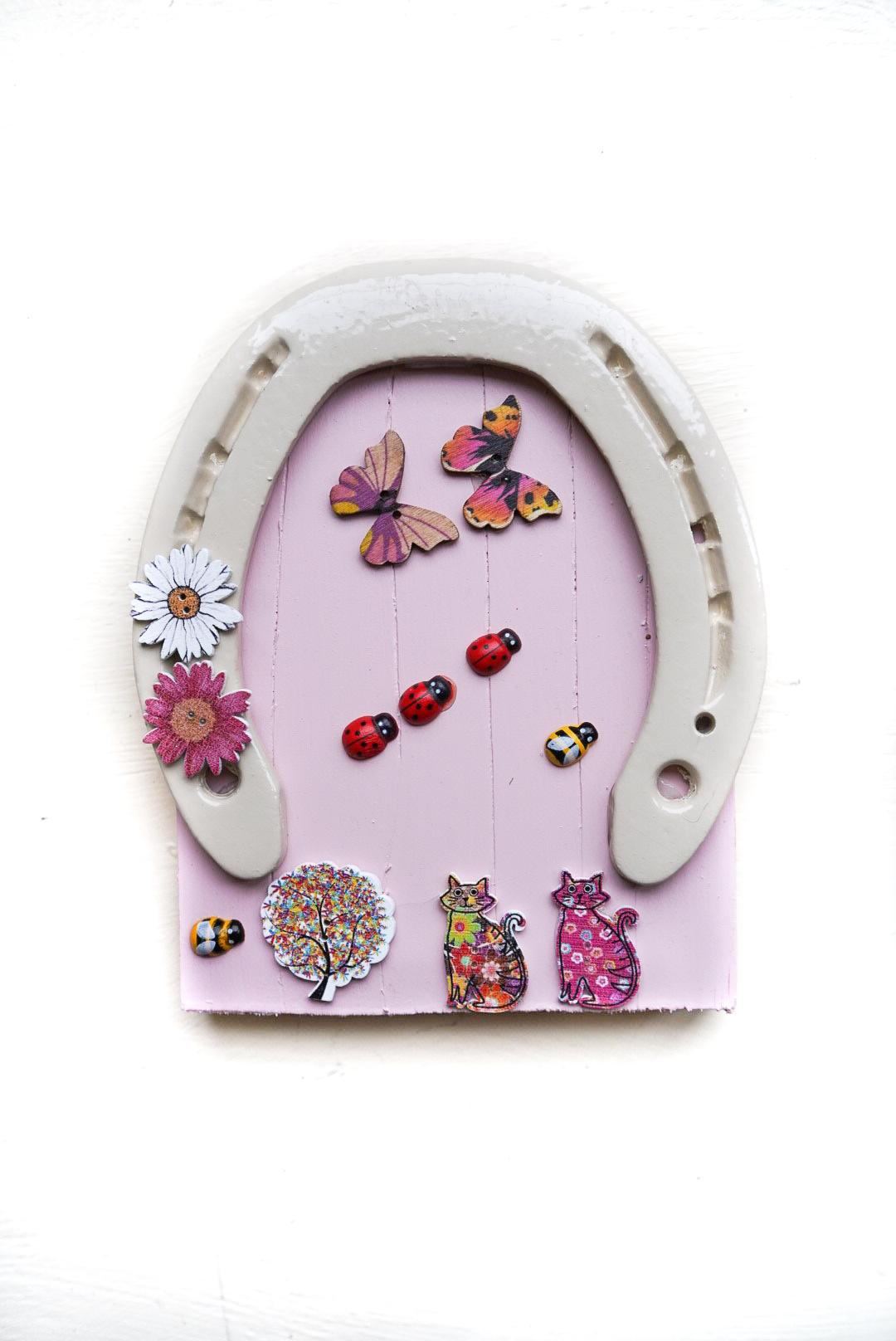 handmade irish fairy door