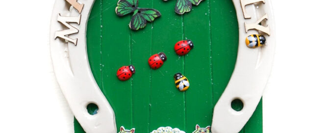 personalised irish fairy doors