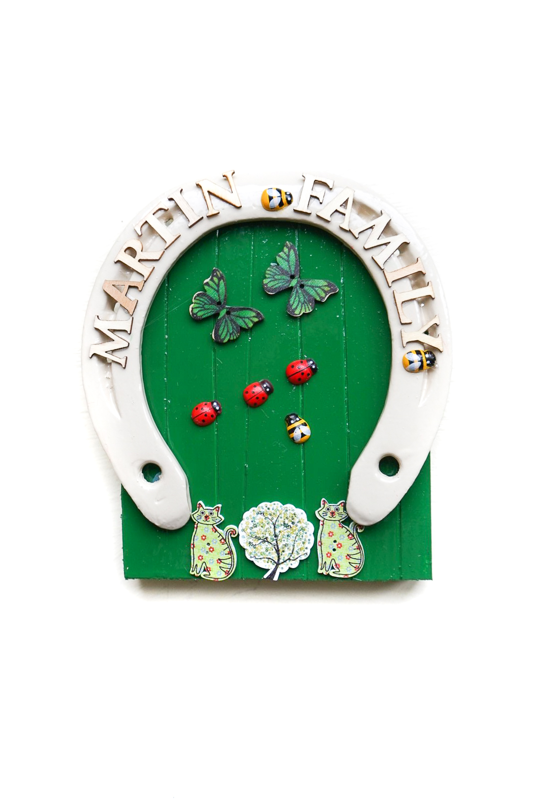 personalised irish fairy doors