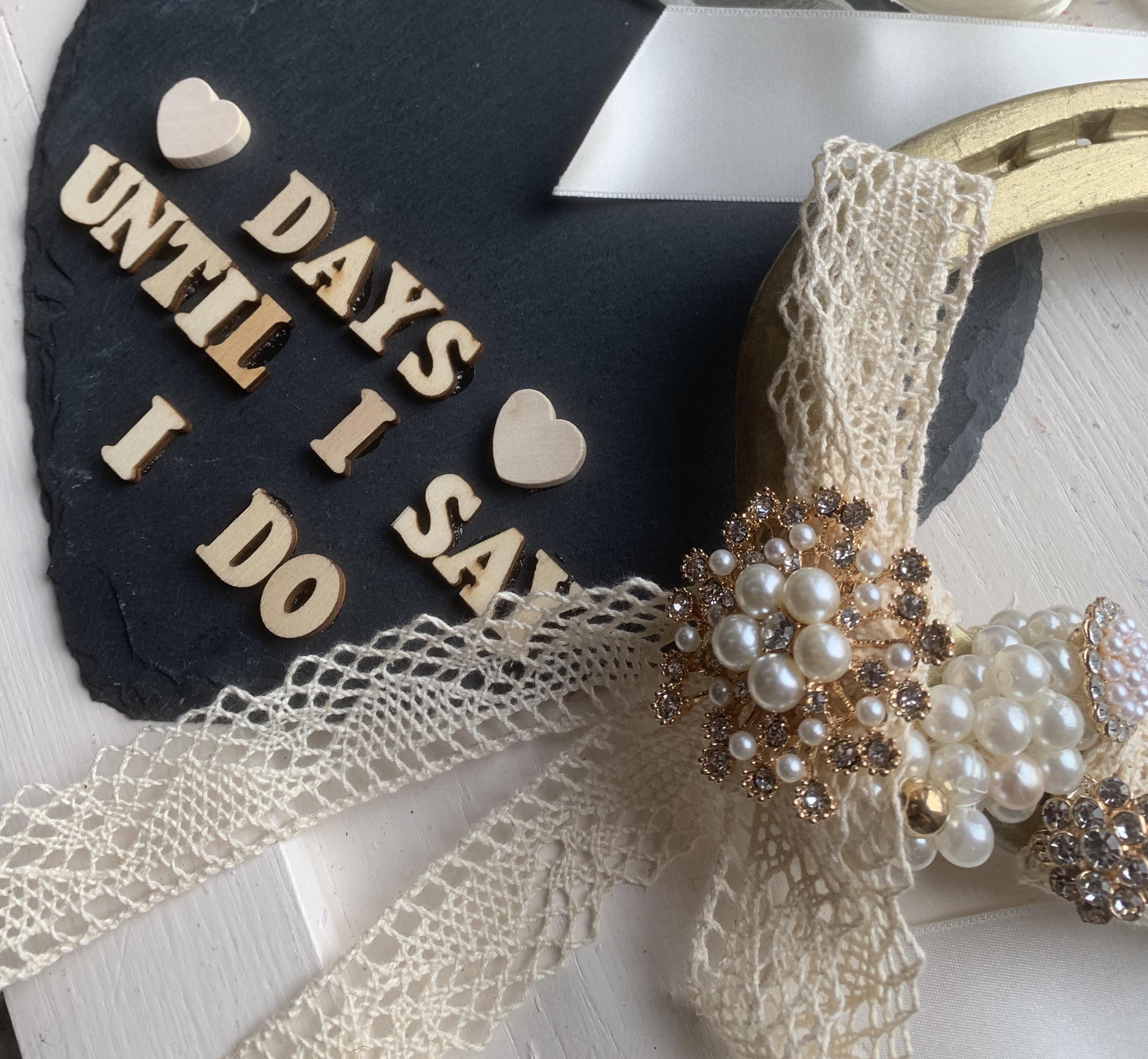 Countdown until your wedding