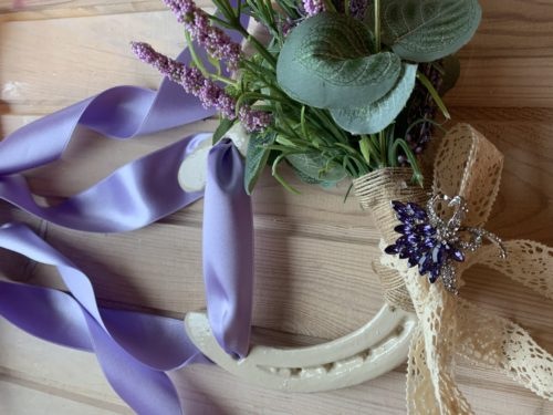 Lilac & Cream bespoke Good Luck Gift